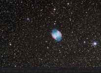 M 27 ~ 1200mm  .  Hantelnebel