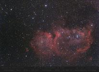 IC 1848  ,  Selennebel