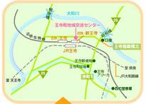 王寺地域交流センター地図