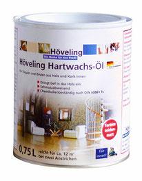 Höveling Hartwachs-Öl für Parkett-, Holz-, Kork-Böden - schmutzabweisend