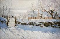 Die Elster Oscar Claude Monet