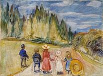 Zauberwald Edvard Munch