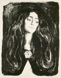 Die Brosche. Eva Mudocci Edvard Munch