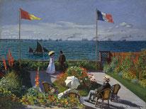 Die Terrasse von Sainte-Adresse