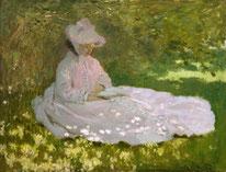 Die Lesende Oscar Claude Monet