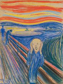 Der Schrei - 1895 Edvard Munch