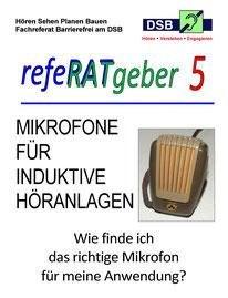 Deckblatt des refeRATgeber 5