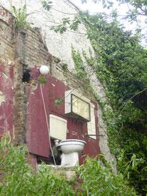 Bild: Offene Toilette in der Lerchenstraße im Schanzenviertel