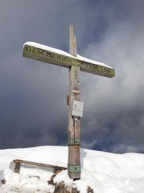 Wieslerhorn Gipfelkreuz bei der Postalm