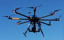 copter-drone im Einsatz für Luftbilder und Luftvideo in Mecklenburg-Vorpommern