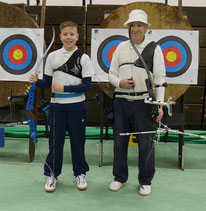 Emil König und Werner Kurzmann auf der Landesmeisterschaft