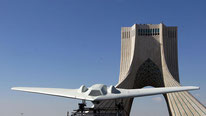 "A ""hacked"" RQ-170 drone in Iran (Credit: Atta Kenare/AFP/Getty)"