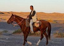 randonnée à cheval au désert du Maroc