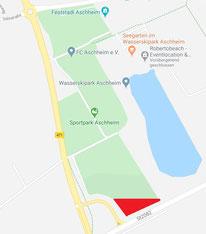 Der neue Standort des Zirkus Betolli