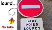 Problème de signalisation - accidents de la route - problèmes de vue - éclairer ma lanterne