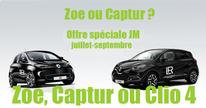 Dès un chiffre mensuel de 4 000 euros, la Clio 4 pour la France est à disposition des partenaires LR