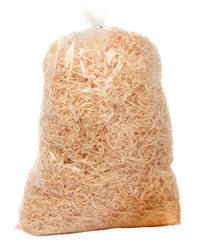 wood wool loose fill packaging product