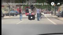 Vidéo de l'attaque au couteau de Hambourg