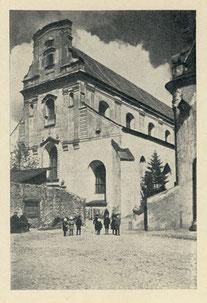 Vilnius. Pranciškonų bažnyčia. 1927m. / The Franciscan Church. 1927