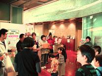 なびあすに戻り賞品授与を行いました また参加者には歴史文化館の入場券をお渡ししました