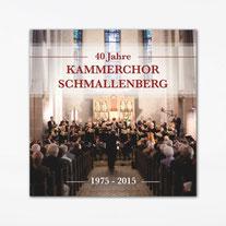 CD des 40 ans du Kammerchor Schmallenberg avec Helga Schauerte à l'Orgue