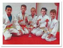 Judo-AG gewinnt den Mannschaftspokal in Sigmaringen!