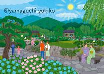 日本庭園イラスト