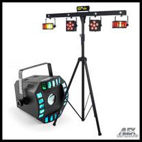 Lichtanlage Lichteffekte Nebelmaschine mieten verleih Alex Light and Sound