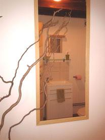 salle de bains chambre nature