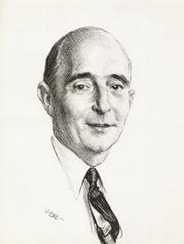 Henri Caraud son beau frére 1958