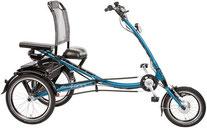 Pfau-Tec Scootertrike Dreirad und Elektro-Dreirad für Erwachsene - Sessel-Dreirad 2017