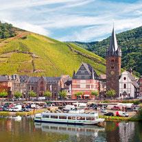 Durch den Hunsrück fahren wir ins Moseltal und durch die Eifel in die Ardennen