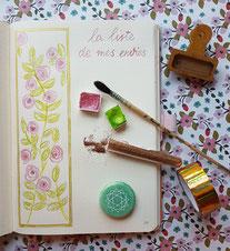 paper break papeterie loisirs créatifs atelier bullet journal bucket list téléchargement gratuit fiche musique