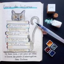 paper break papeterie loisirs créatifs atelier bullet journal bucket list téléchargement gratuit lectures chat