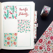 paper break papeterie loisirs créatifs atelier bullet journal bucket list téléchargement gratuit collection motifs liberty