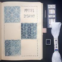 paper break papeterie loisirs créatifs atelier bullet journal bucket list téléchargement gratuit collection motifs sashiko