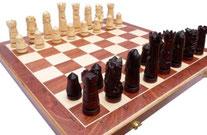 Schachspiel Nr. 106C handgeschnitzt aus Holz