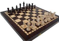 Schachspiel Nr. 140 magnetisch aus Holz