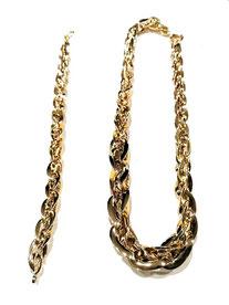 Parure da donna  in oro giallo 18 kt  prezzi scontati - Istanti di Gioia