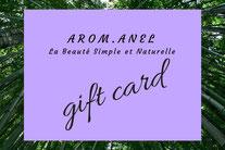 Offres mensuelles et permanentes, cartes cadeaux