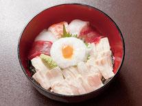 すし屋のゆば丼 1,350円(税込) ※要予約