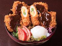 あけぼの大豆の味噌カツ丼 1,080円(税込) ※数量限定