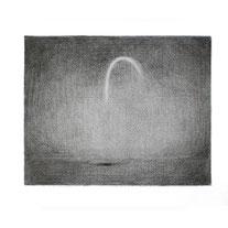 o.T., 18x23 cm, Graphitzeichnung auf Papier, 2018