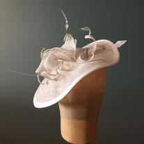 Fascinator Headpiece Haarschmuck Hochzeitshaarschmuck Weddinghat