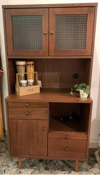キッチンボード 食器棚 北欧 カップボード レトロ コモット インテリア 栃木県家具 東京デザインセンター