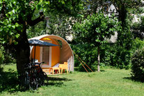 Unusual lodges in drome, tipi, tents