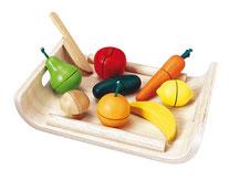 Plateau fruits et légumes à découper