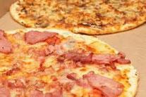 Alquiler de vacaciones en Tosa de Mar, pizzas del restaurante Bello en la Guía de Company Gestions