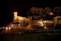 Alquiler de vacaciones en Tossa de Mar, Castillo medieval en la guía de Company gestions