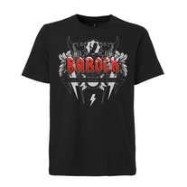 BAROCK T-Shirt black ice